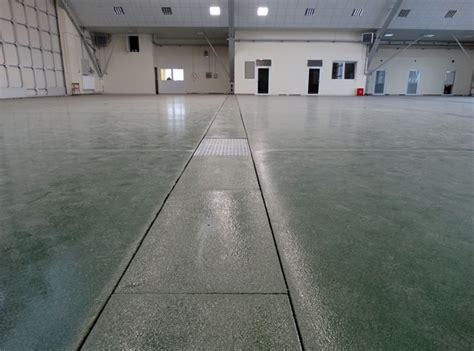 Aircraft hangar Flooring   Bautech