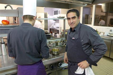 julien cuisine la table du château de restaurant porspoder les