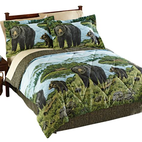 black bear woodland comforter set ebay