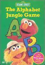 Sesame Street The Alphabet Jungle Game