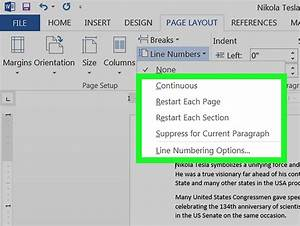 How To Add Line Numbers In Microsoft Word On Pc Or Mac  4