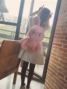 Convertor De Moneda Kawaii Clothing Mochila Conejo Bunny Backpack Wh254