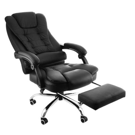 Reclining Padded Chair With Footrest by Top 10 Best Reclining Office Chair In 2017