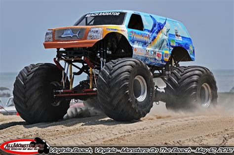 monster truck show va monsters on the beach 2012 photos saturday may 12 2012