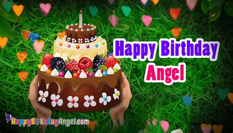 Best Happy Birthday Greeting Cards For Angel