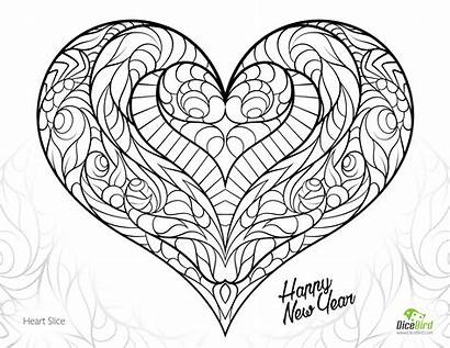 Coloring Pages Anatomy Physiology Printable Hearts Heart