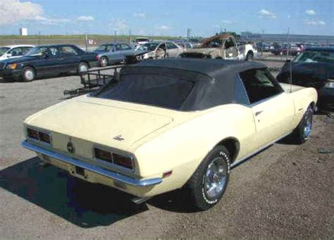 Indy Boat Salvage Website by 1968 Camaro Convertible For Sale 3 900 69 Camaro Z28