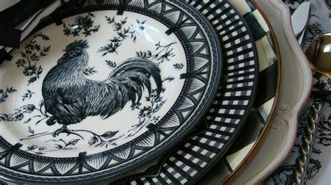 red rooster dinnerware metlox red rooster   salad plate