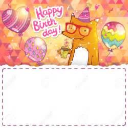 card invitation design ideas vector happy birthday card background with