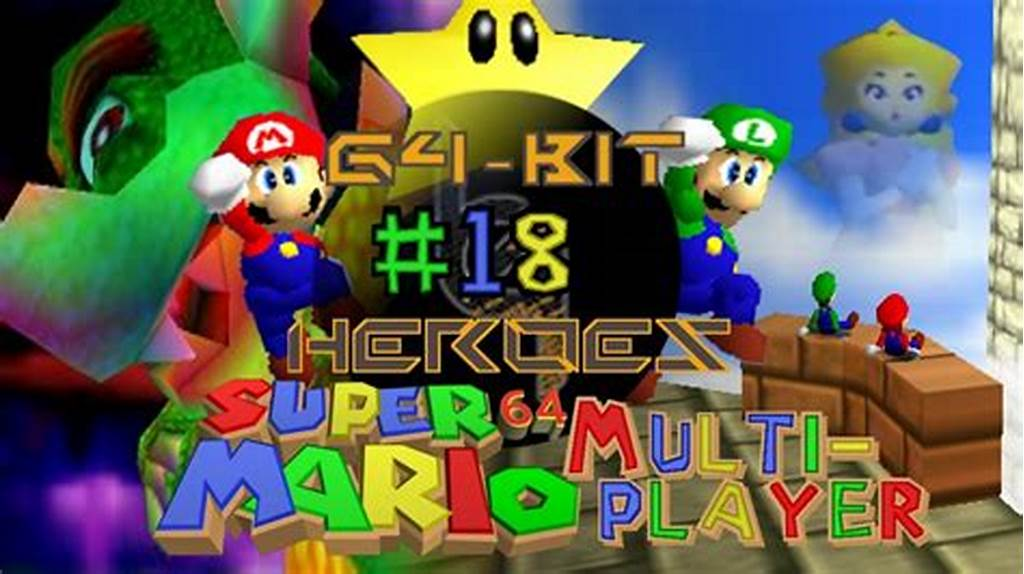 #Super #Mario #64 #Multiplayer