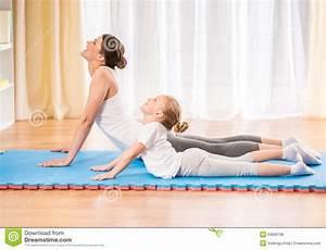 Yoga At Home : yoga at home stock photo image 53899766 ~ Orissabook.com Haus und Dekorationen