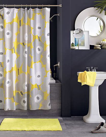 Yellow And Grey Bathroom Set by Gray And Yellow Inspiration From Crate Barrel Mojan Sami