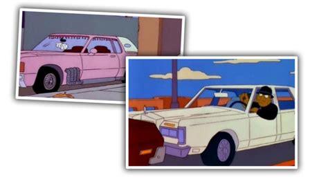 vida mas triste guia de autos del mundo real usados en los simpson