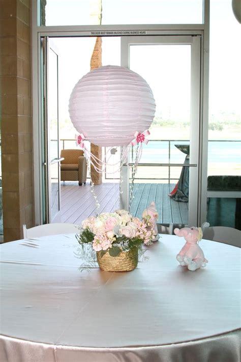 Hot Air Balloon Centerpieces Babyshower Trendees