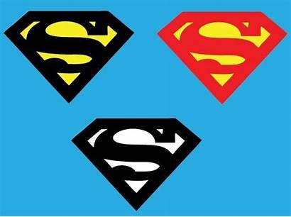 Superman Clipart Clip Silhouette Symbol Vector Clipartion