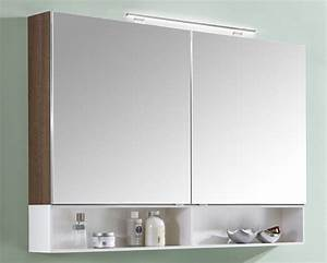 Spiegelschrank 120 Cm Breit : marlin bad 3110 spiegelschrank 120 cm breit stob12 badm bel 1 ~ Markanthonyermac.com Haus und Dekorationen