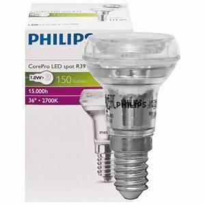 Led Reflektorlampe E14 : philips led reflektorlampe corepro ledspot e14 240v lebensdauer stunden ~ Orissabook.com Haus und Dekorationen