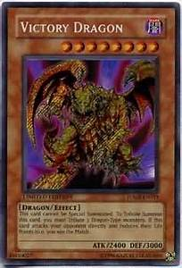 Victory Dragon JUMP EN011 Secret Rare Yu Gi Oh