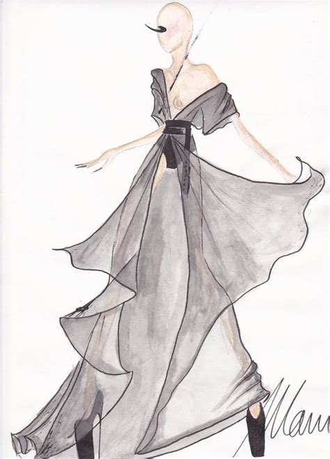 Simple Fashion Design Sketches Of Dresses 2015-2016 | Fashion Trends 2016-2017
