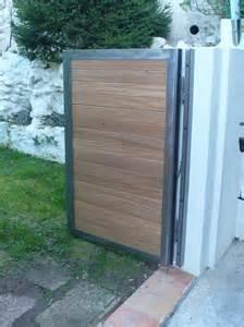 Portail Bois 4m : portail bois fer portail bois coulissant 4m menuisier ~ Premium-room.com Idées de Décoration