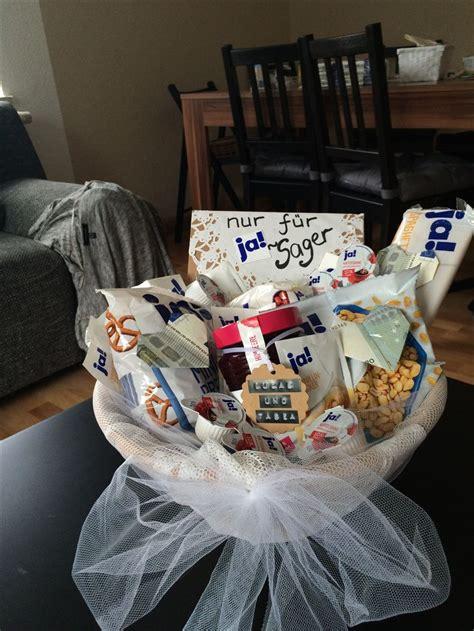 hochzeitsgeschenk idee ja sager geschenke brautpaar