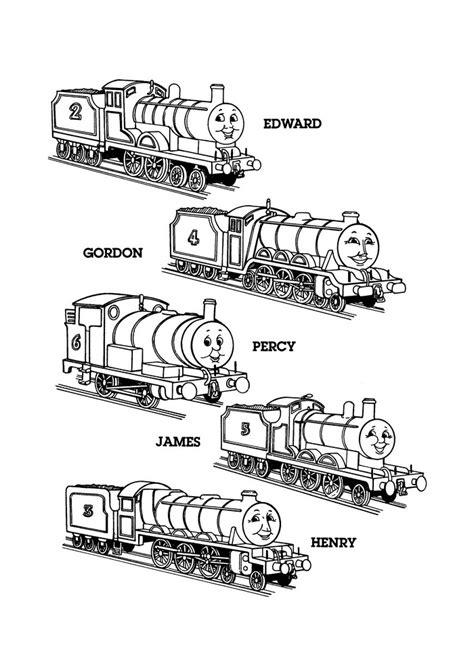 Kleurplaat Percy De Trein de trein edward gordon percy de
