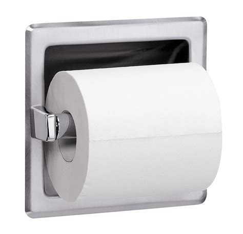 tissue toilet recessed single roll toilet tissue dispenser with spare