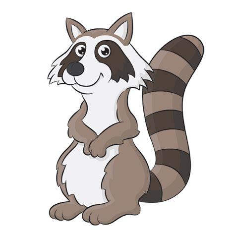 raccoon cartoon step  step drawing lesson