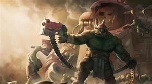 Warhammer 40k Orks, HD 4K Wallpaper