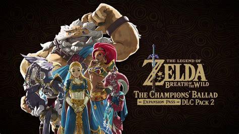 Dlc Zelda Breath Of The Wild E3 2017 Zelda Breath Of The Wild Dlc Details Release