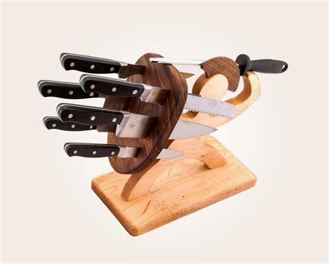 Buy A Beautiful Knife Set Holder by Product Of The Week The Spartan Knife Set Holder