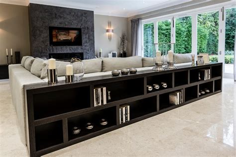 Living Room Bookshelves Modern by Low Bookcase Family Room Contemporary With Glass