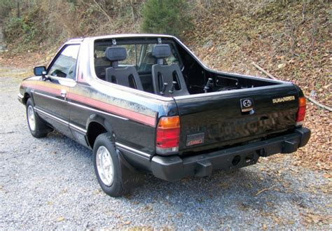 subaru brat gl  sport  sale  technical