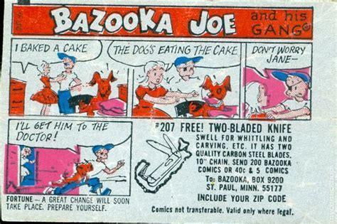bazooka joe bazooka gum bazooka joe comics 1954 comic books 1965