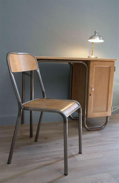 bureau ecole bureau maître d 39 école et sa chaise finition cirée vendu