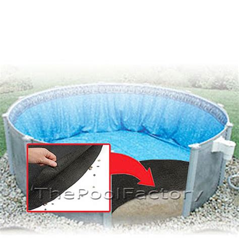 Above Ground Pool Floor Padding by Pool Liner Floor Pad Armor Shield Guard All Sizes For