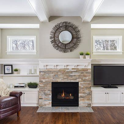 Decorating Ideas Next To Fireplace by How To Decorate Around A Tv I That Big Black Screen
