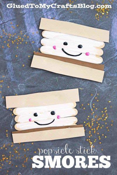 popsicle stick smores glued to my crafts 315 | 418e343d93e2a8a8463ab5dbc4a14cfb