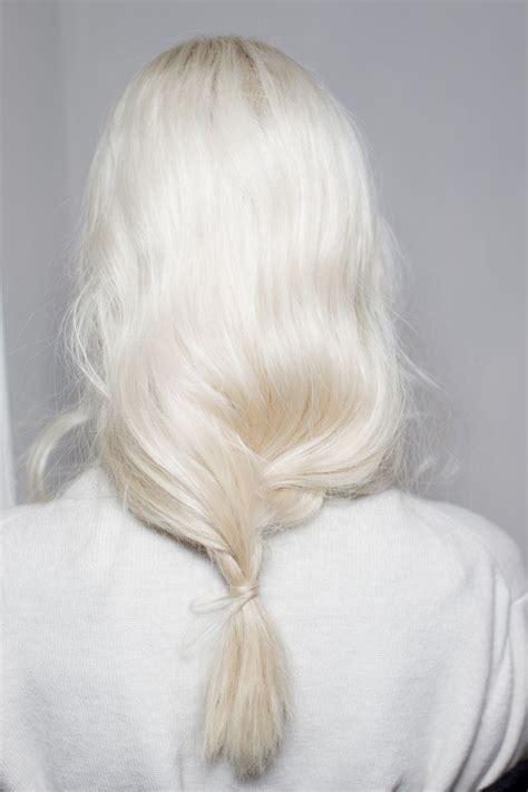 64 Best Images About Platinum Blonde On Pinterest Hair