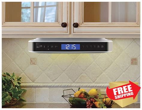 Ilive Cabinet System by Kitchen Ilive Counter Cabinet Stereo Radio Bluetooth