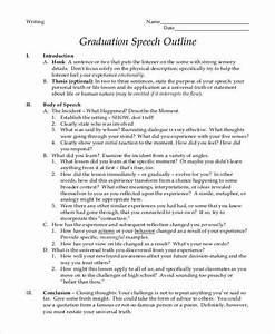 8 graduation speech examples samples pdf With valedictorian speech template