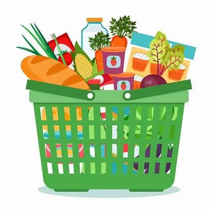 Clipart Transparent Organic Groceries Grains Basket Clip