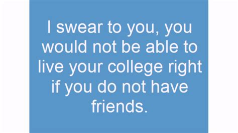 college friends quotes youtube