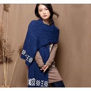 Echarpe Femme Laine : echarpe laine cachemire pour homme et femme avec motif hiver ~ Nature-et-papiers.com Idées de Décoration