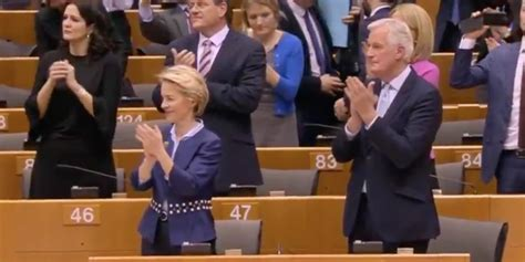 How michel barnier signed off on deal for controversial lab (image: The European Parliament joined hands and sang Auld Lang Syne in an emotional Brexit farewell to ...