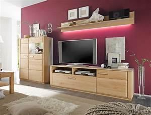 Wohnwand Eiche Teilmassiv : wohnwand senta 25 eiche bianco teilmassiv 3 teilig medienwand tv wand wohnbereiche wohnzimmer ~ Eleganceandgraceweddings.com Haus und Dekorationen