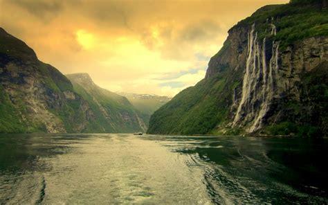 gambar pemandangan sungai gambar pemandangan
