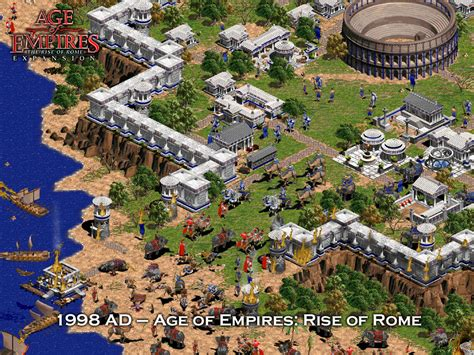 Age Of Empires Game Rise Of Rome Complete Glutturaf