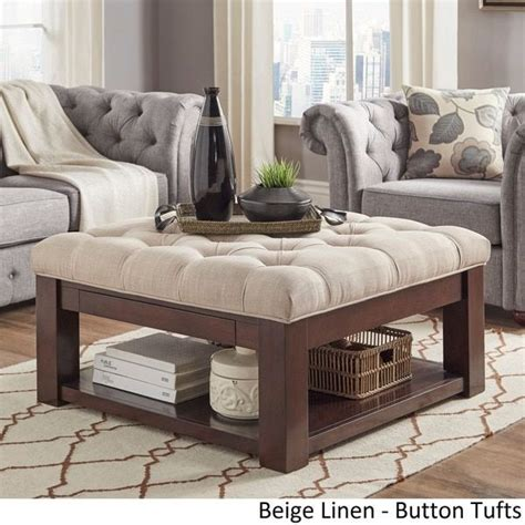 Table With Ottomans by Best 20 Ottoman Coffee Tables Ideas On