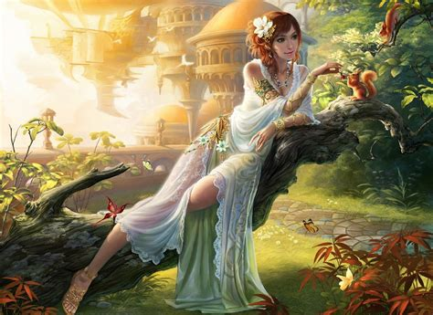 Nature Goddess Full Hd Wallpaper And Background Image